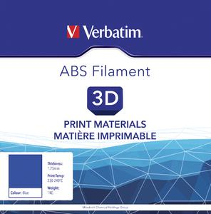 VERBATIM Filament ABS 1,75mm blau 1kg