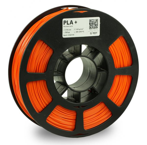 Kodak PLA + Orange 3D-Filament 1,75 / 2,85mm 750g Pantone 1505 C
