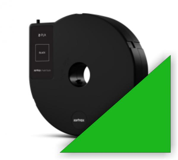 Zortrax Z-PLA Filament Green Cartridge für Inventure