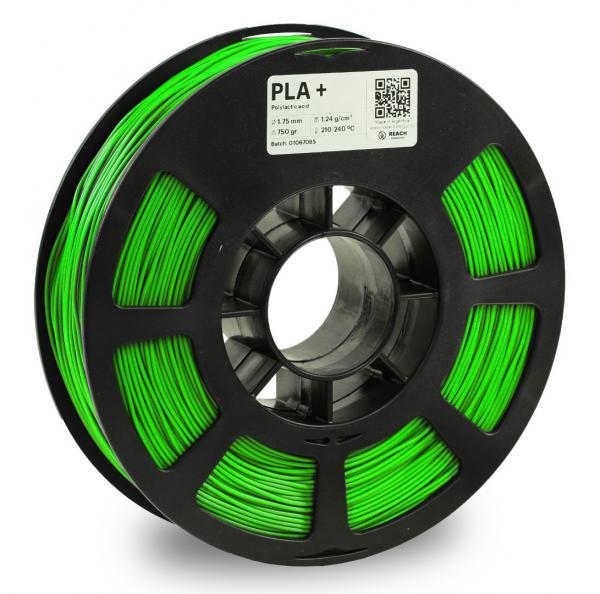 Kodak PLA + Hellgrün 3D-Filament 1,75 / 2,85mm 750g Pantone 2286 C