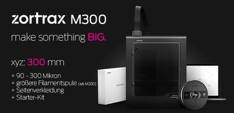 Zortrax M200 3D-Drucker Jetzt erhältlich