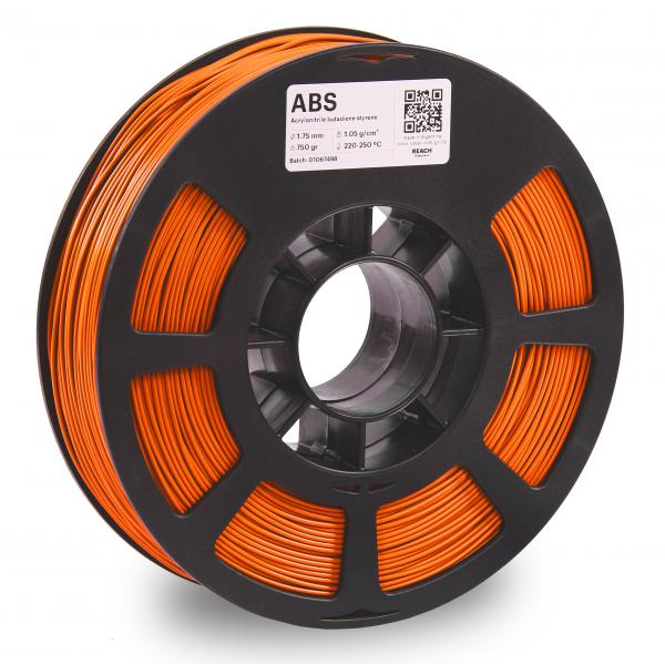 Kodak ABS Orange 3D-Filament 1,75 / 2,85mm 750g Pantone 1505 C