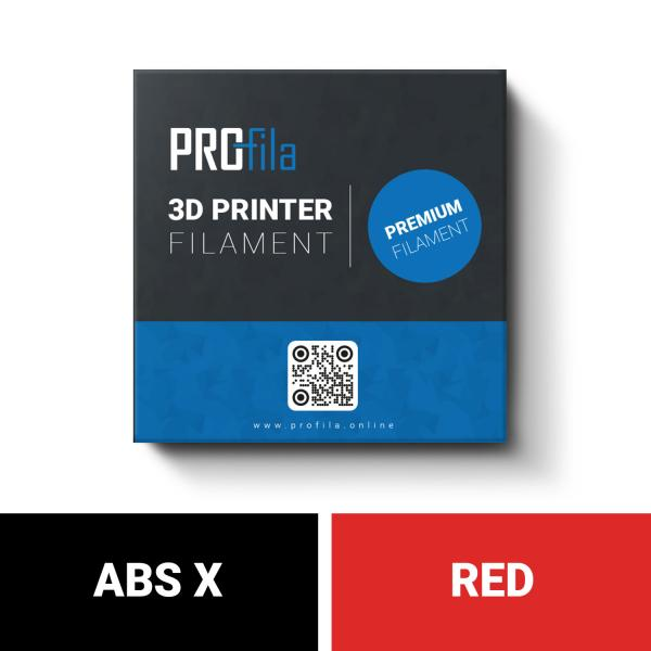 Filament rouge ProFila ABS X 1,75 mm 1,0 kg