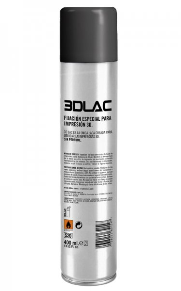 3DLac 400ml spray adhesive for better adhesion with FDM printers