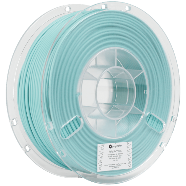 Polymaker PolyLite ABS Filament Teal 1,75mm 1000g