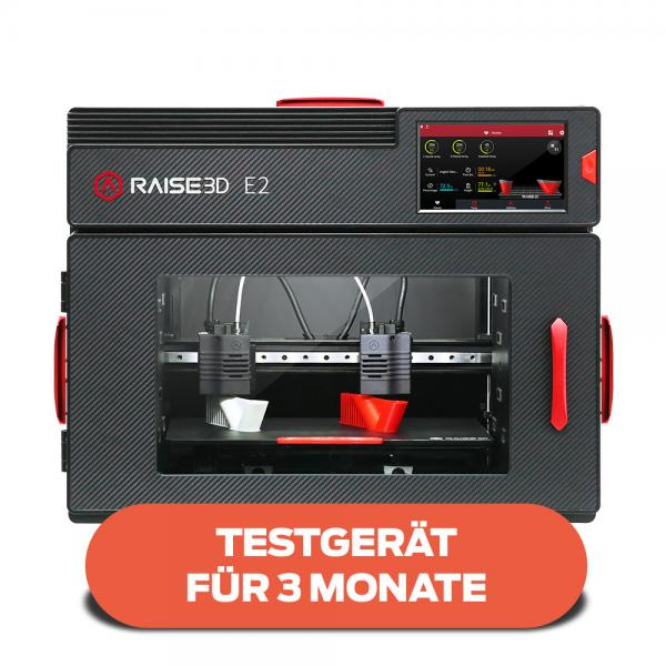 Testgerät für 3 Monate: Raise3D E2 Mehrzweck-3D-Drucker mit Dual-Extruder