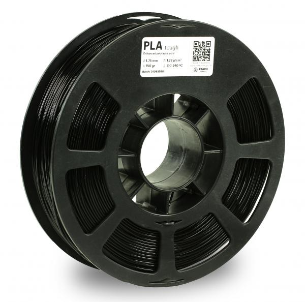 Kodak PLA Tough Schwarz 3D-Filament 1,75 / 2,85mm 750g Pantone 6 C