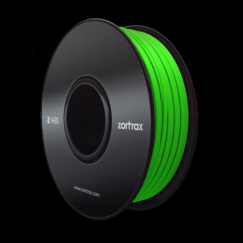 Zortrax Z-ABS Filament Grün 0,8kg 1,75mm
