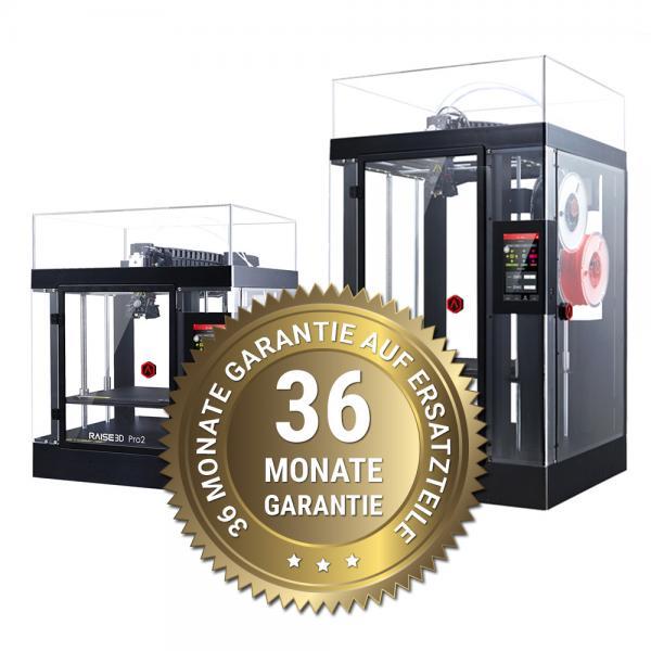 3DDistri Garantieerweiterung auf 36 Monate für Raise3D Pro2 Serie