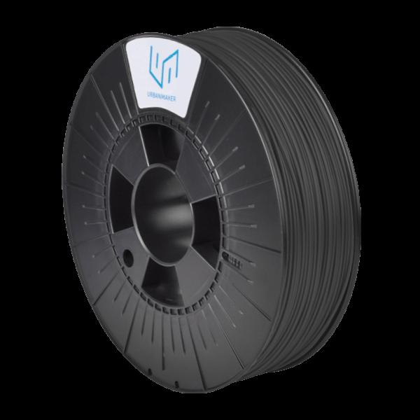 UM-PLA 120 bis zu 120°C Wärmeformbeständig Schwarz 800g