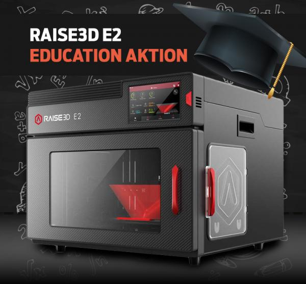 Education: Raise3D E2 3D-Printer with Dual Extruder
