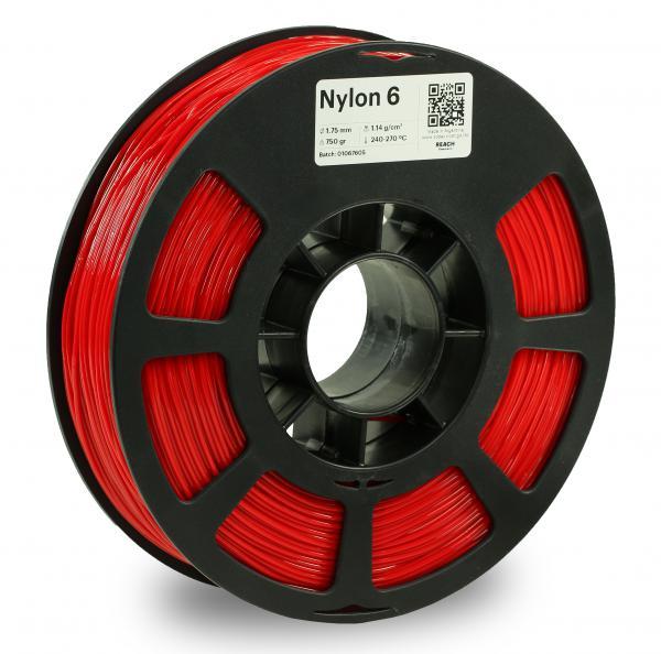 Kodak Nylon 6 Rot 3D-Filament 1,75 / 2,85mm 750g PA6 / PA66 Pantone 485 C
