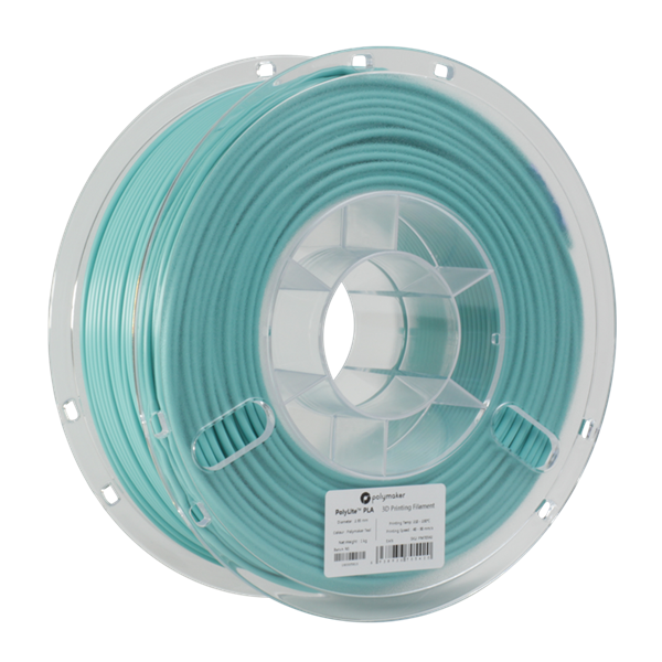 Polymaker PolyLite PLA Filament True Teal 1,75mm 1000g