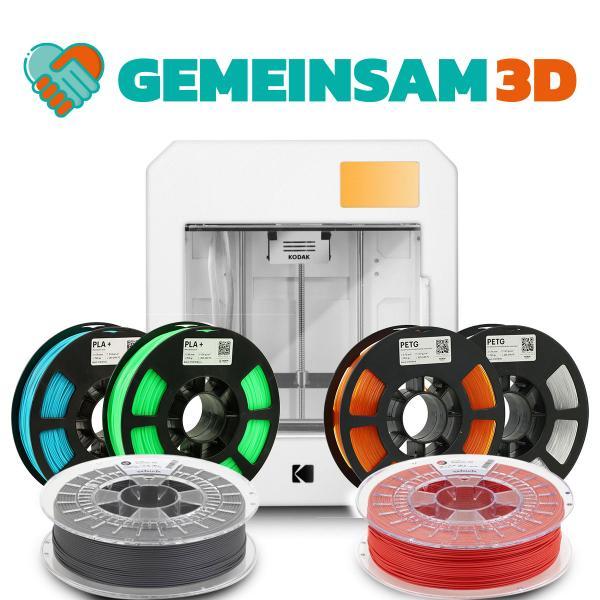 gemeinsam3D: KODAK Portrait Set 3D Drucker