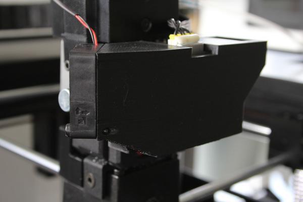 OKM3D Lüfter-Upgrade für Extruder Motor Raise3D Pro2 Serie