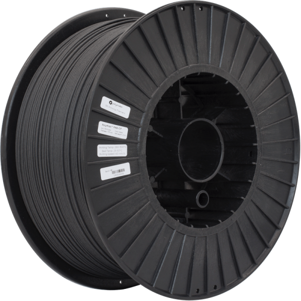 PolyMide PA6-CF Filament Black 1,75mm 2000g