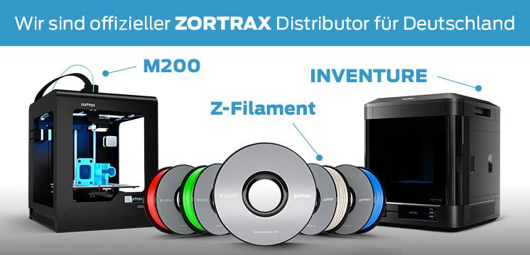 3D Drucker Experte Zortrax Distributor Deutschland