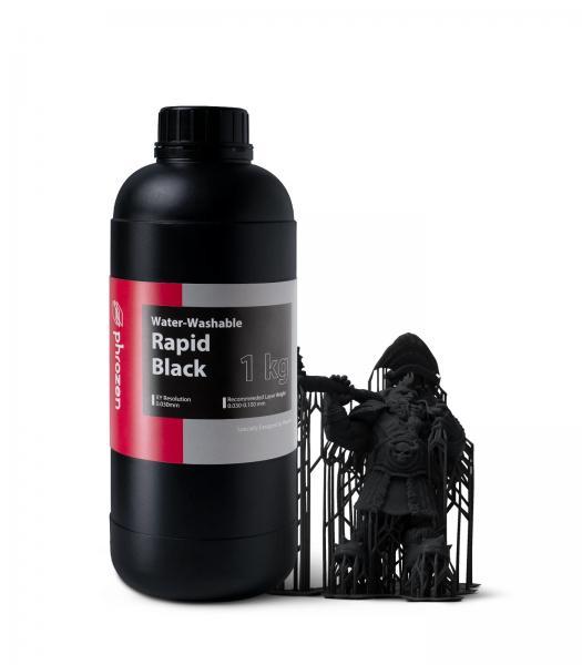 Phrozen Water-Washable Resin Rapid Black 1KG