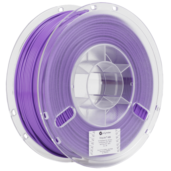 Polymaker PolyLite ABS Filament Purple 1,75mm 1000g