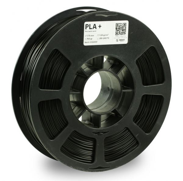 Kodak PLA + Schwarz 3D-Filament 1,75 / 2,85mm 750g Pantone 6 C