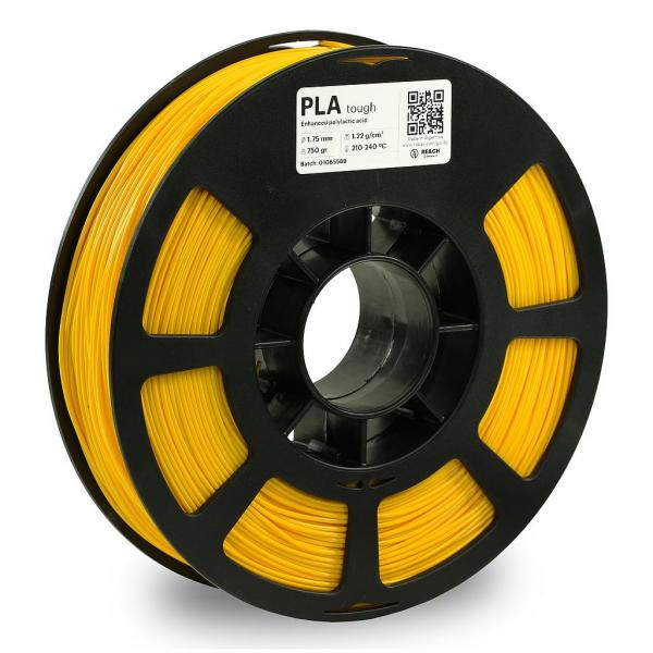 Kodak PLA Tough Gelb 3D-Filament 1,75 750g