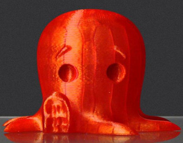 "Abverkauf: MakerBot PLA Filament Large ""Translucent Orange"" 0,90kg (Durchmesser 1,75mm)"