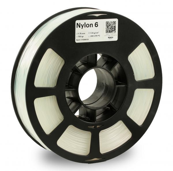 Kodak Nylon 6 Natur 3D-Filament 1,75 / 2,85mm 750g PA6 / PA66