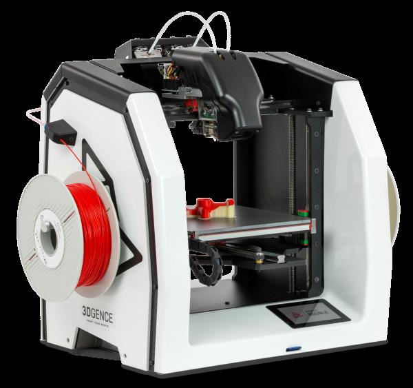 3DGence Double 3D-Drucker FFF mit zwei Düsen 0,4mm