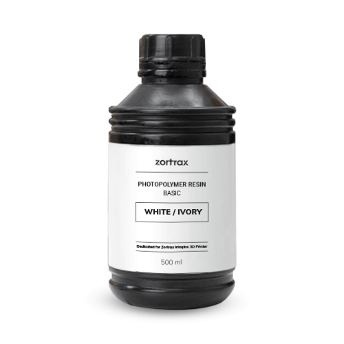 Zortrax Resin BASIC White / Ivory 500ml