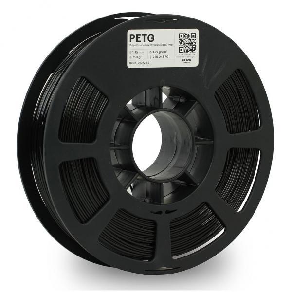 Kodak PET-G Schwarz 3D-Filament 1,75 / 2,85mm 750g