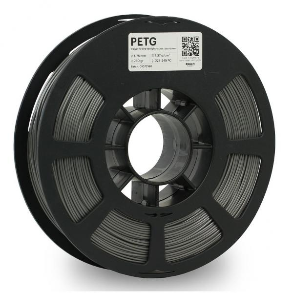 Kodak PET-G Grau 3D-Filament 1,75 / 2,85mm 750g