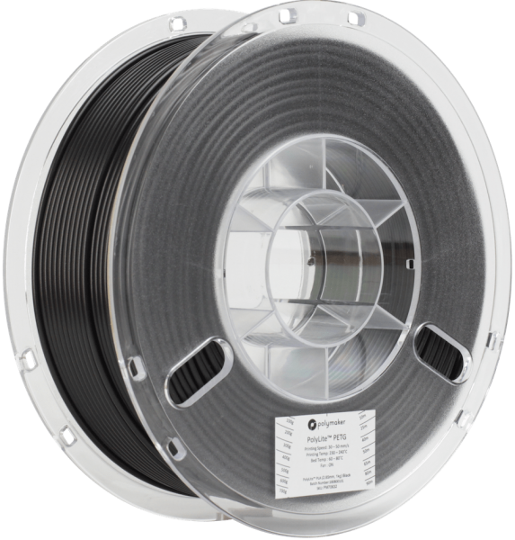 Polymaker PolyLite PETG True Black Filament 1,75mm 1000g