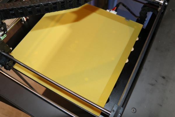 Perforierte Platte 33x34cm für Raise3D N2 / Pro2