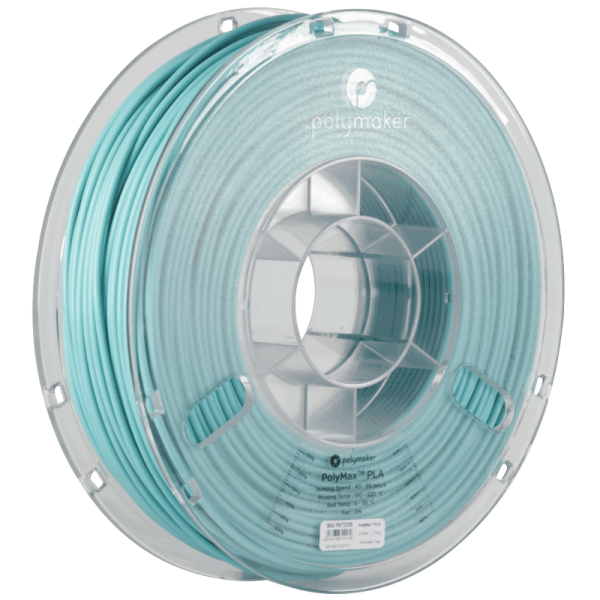 PolyMaker PolyMax PLA Teal in 1,75mm 750g