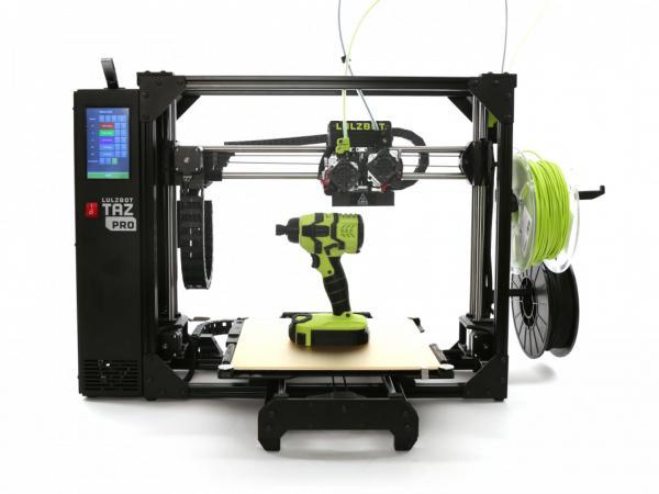LulzBot TAZ Pro industrieller Dual Extruder Desktop-3D-Drucker