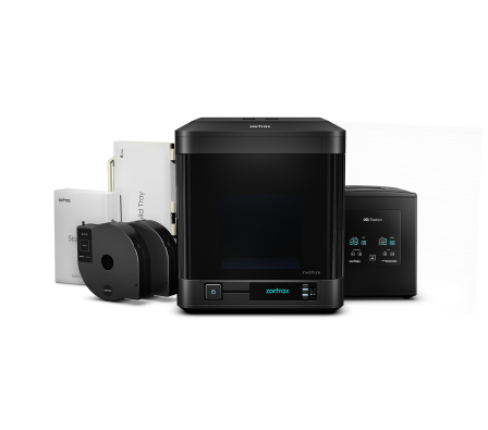 Zortrax INVENTURE inkl. DSS-Cleaning-Station (DSS Pack) 3D-Drucker