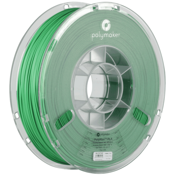 PolyMaker PolyMax PLA Green in 1,75mm 750g