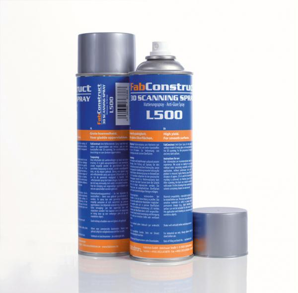 FabConstruct 3D Scanning Spray (Mattierungsspray) L500 500ml