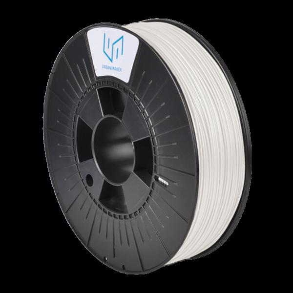 UM-PLA 120 bis zu 120°C Wärmeformbeständig Weiß 800g