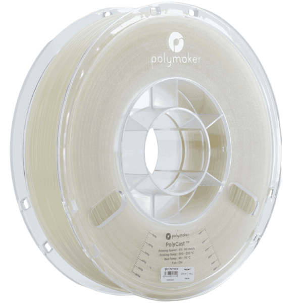PolyMaker PolyCast Filament Natural 1,75mm 750g
