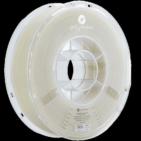 PolyMaker PolyCast Filament Natural 1,75mm 750g