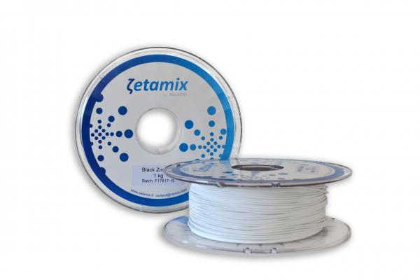 Zetamix Zirconia White Keramischer Filament 1.75 / 2,85 mm 1000g