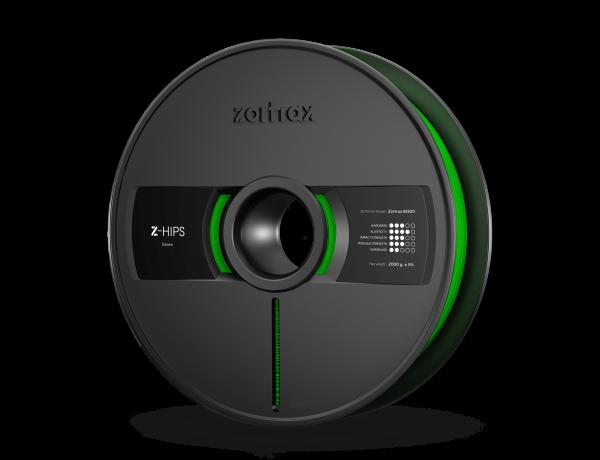 Zortrax Z-HIPS Green Filament 2,0kg 1,75 für M300