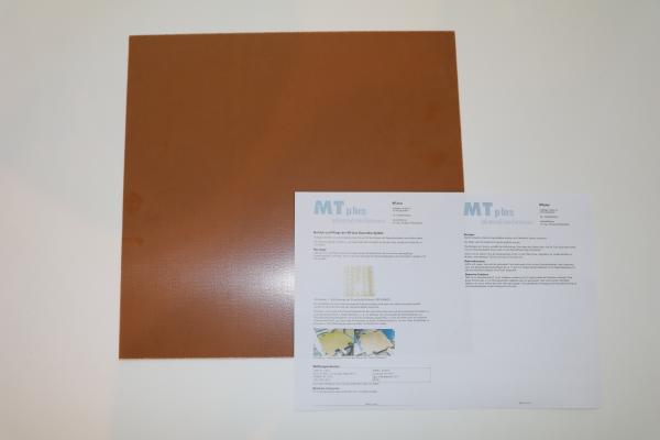 MTplus Dauerdruckplatte für Raise3D E2 368 x 254mm