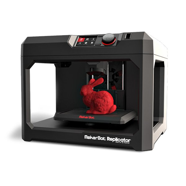 Demogerät: MakerBot Replicator + 0,9 kg PLA 3D-Drucker (5th generation model)