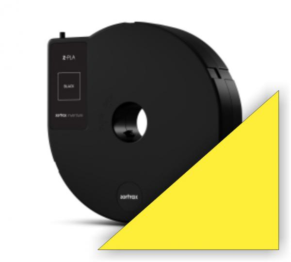 Zortrax Z-PLA Filament Yellow Cartridge für Inventure
