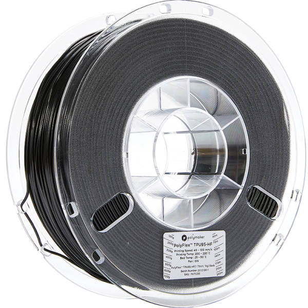 PolyFlex-TPU95-HF-Black