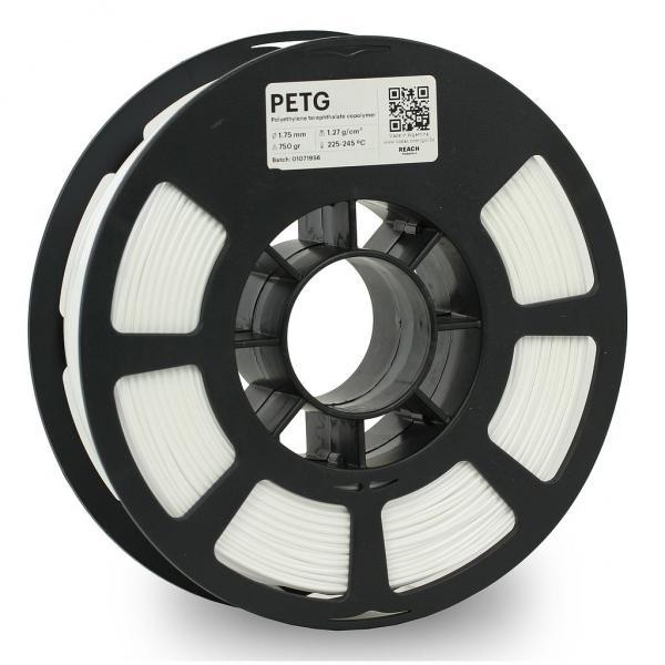 Kodak PET-G Weiß 3D-Filament 1,75 / 2,85mm 750g