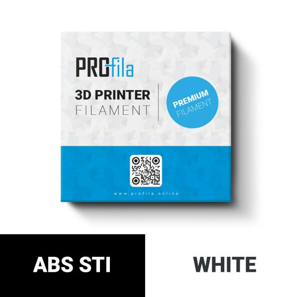 ProFila ABS STI white 1,75mm 1000g