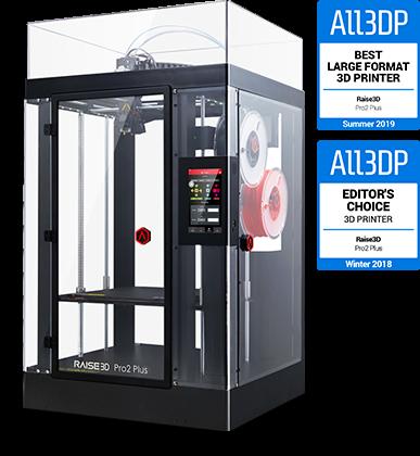 Raise3D Pro2 Plus 3D-Printer with Dual Extruder